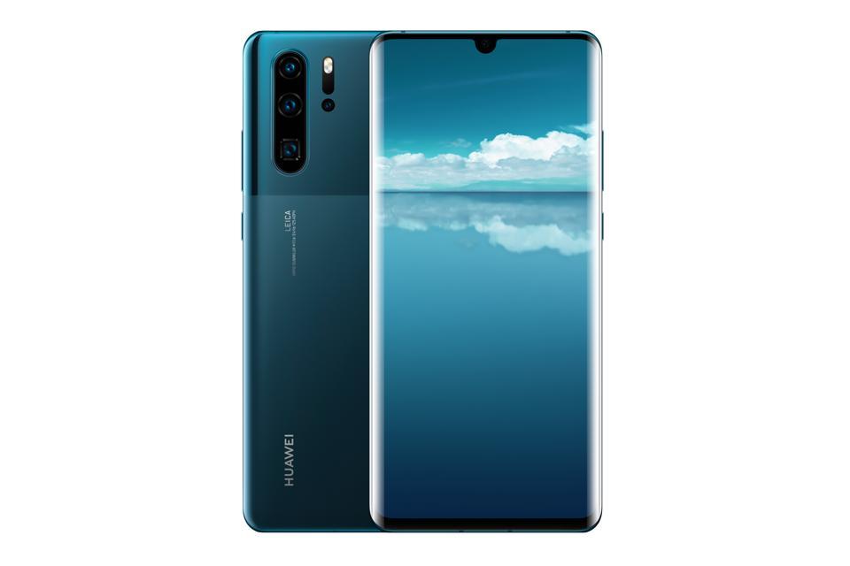 Huawei P30 Pro (new design) in Mystic Blue