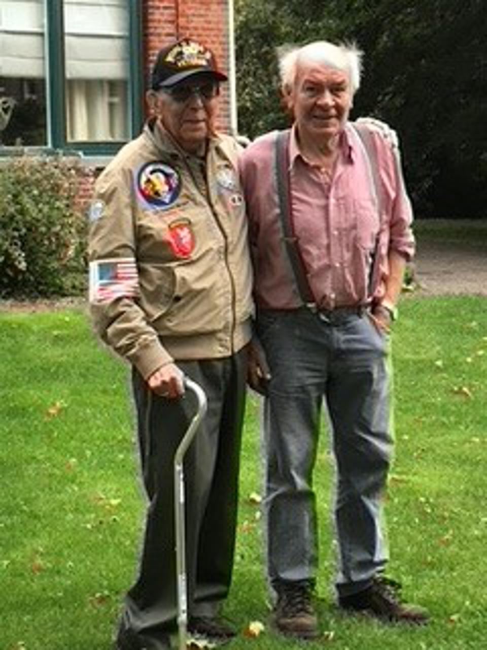Wan van Overveld Dutch Eyewitness & US Veteran of Operation Market Garden.