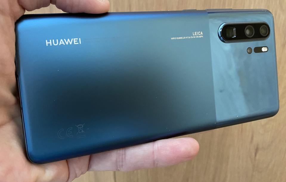 Huawei P30 Pro in its most recent design update