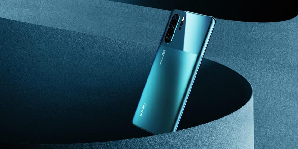 Huawei P30 Pro in its second design release in 2019