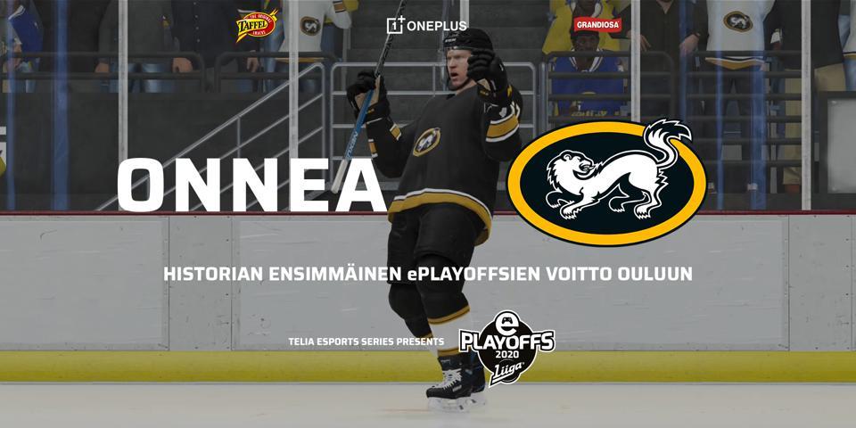 Finland ice hockey Liiga playoff winners Oulun Kärpät.