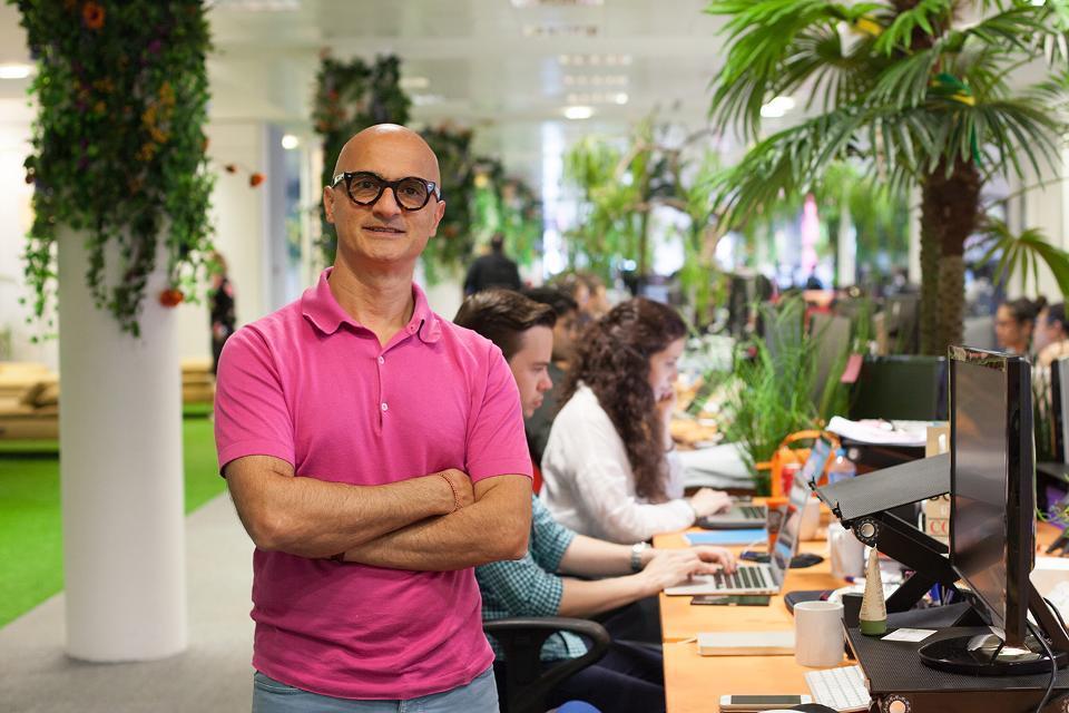 Babylon founder and CEO Ali Parsa