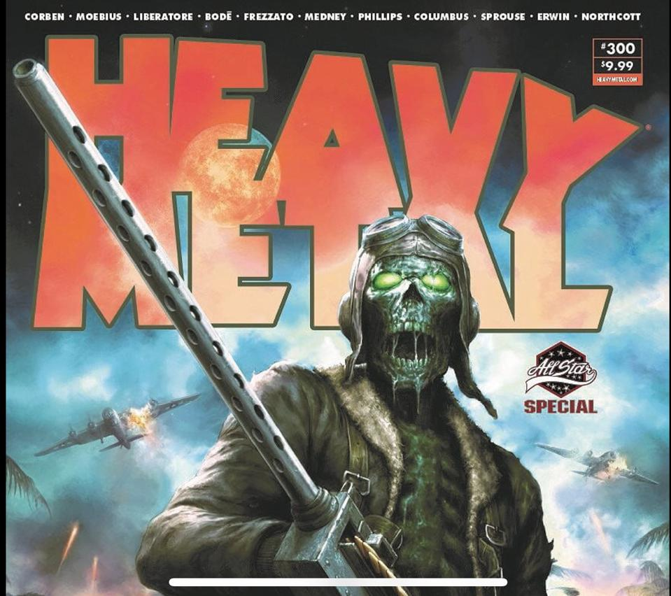 Heavy Metal, Nelson, Science Fiction, sci fi zombie