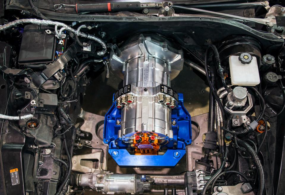Genovation GXE based on the Chevrolet Corvette C7 platform