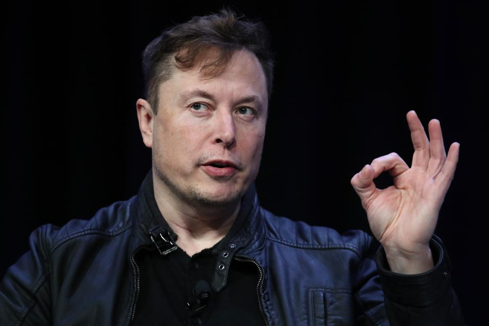 Elon Musk, CEO Of Tesla, Speaks At Satellite Conference In Washington, DC