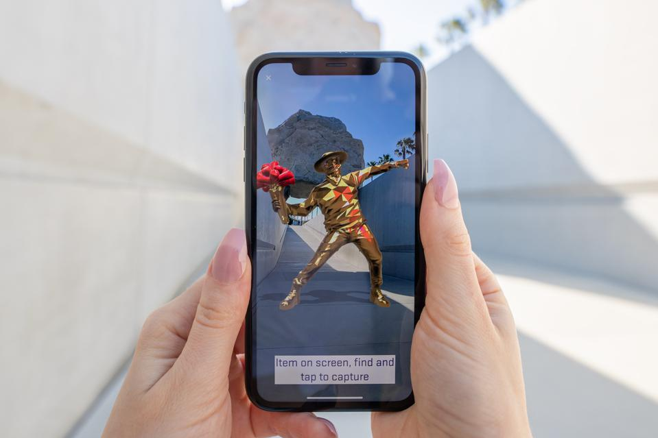 Wilder World is an AR art gallery with launch artists MREgfx and Vacades