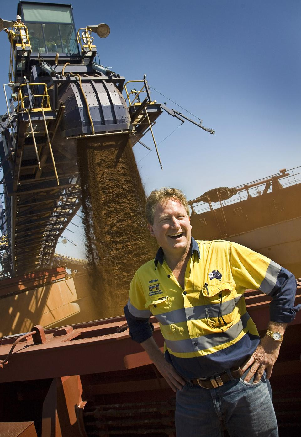 FIRST IRON ORE BY FORTESCUE