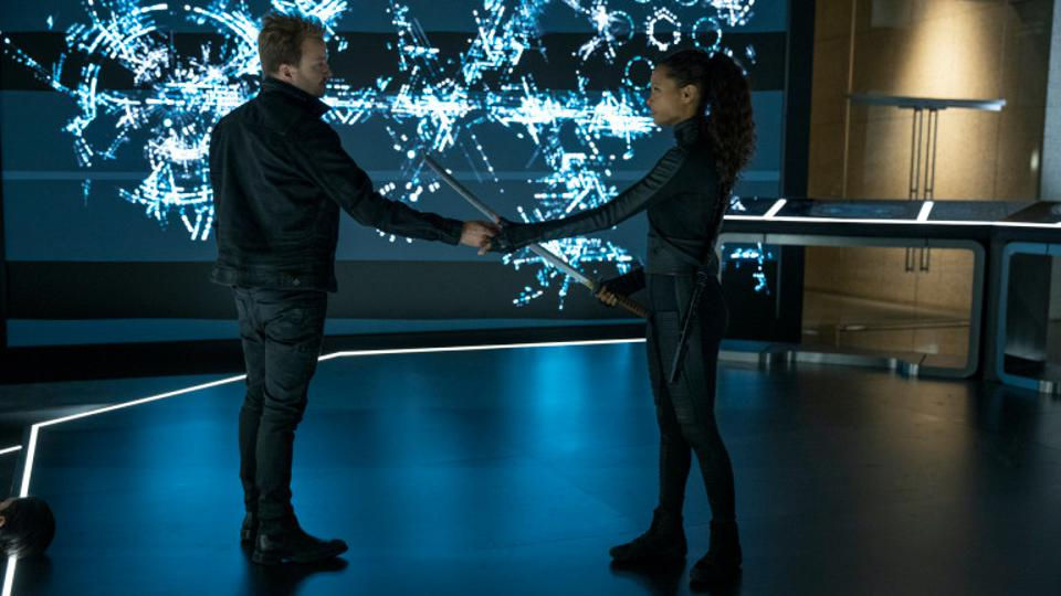 Maeve and Caleb Westworld Season 3 Finale