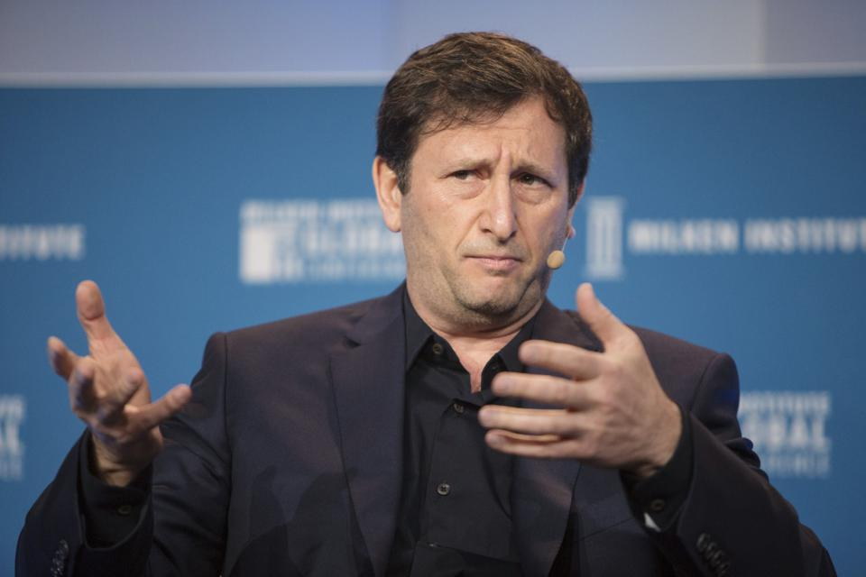 Alex Mashinsky, chief executive officer of Celsius Network, speaks during the Milken Institute Global Conference in Beverly Hills, California. U.S. Photographer: Dania Maxwell/Bloomberg