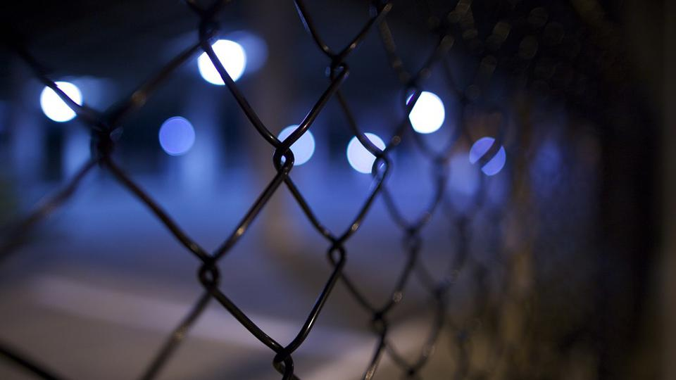 Lighted fence