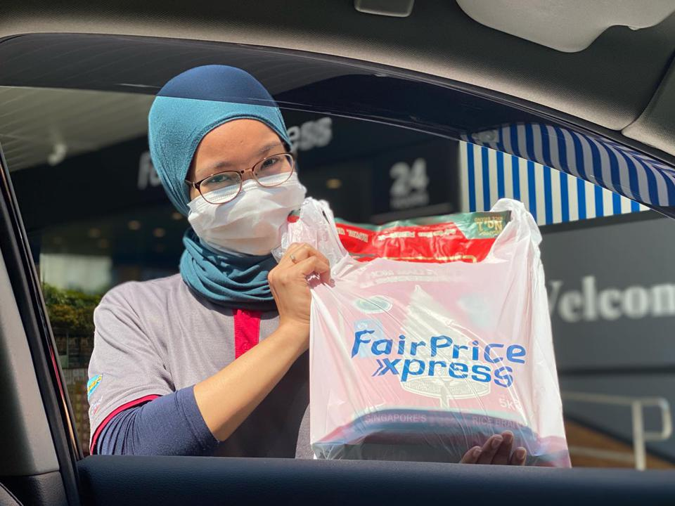 FairPrice Xpress Singapore same-day delivery