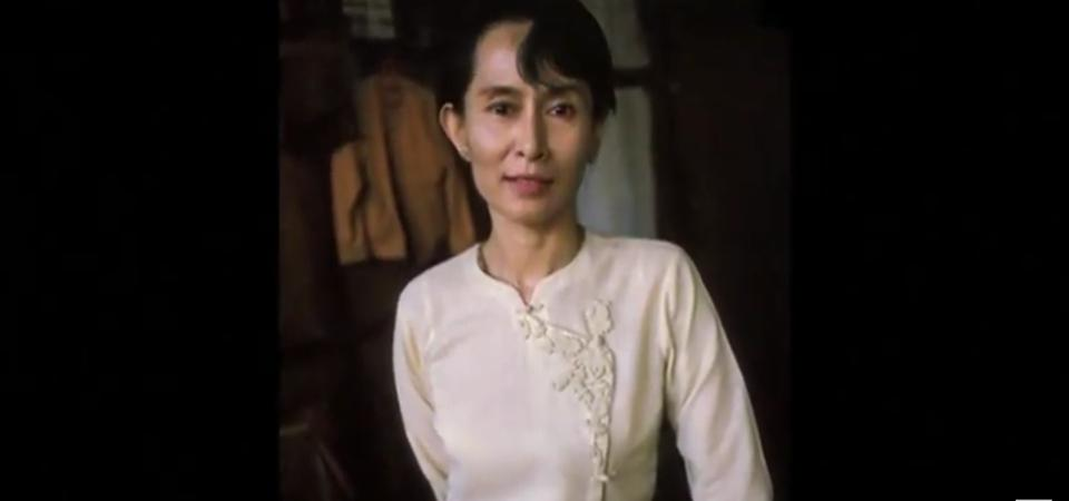Nobel Prize winner Aung San Suu Kyi under house arrest