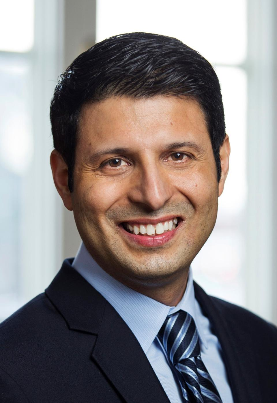 A headshot of Sodexo North America Chair and Homecare Worldwide CEO Sarosh Mistry