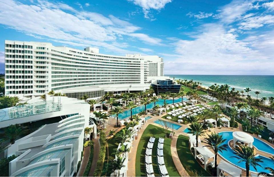 Fontainebleau Hotel, Miami.