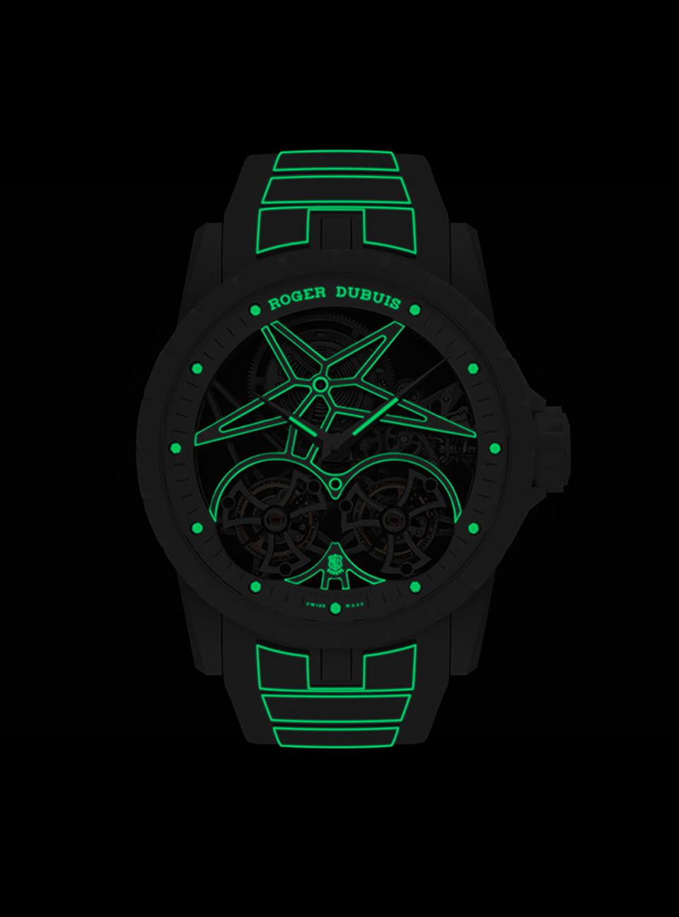 The Roger Dubuis Excalibur Twofold.