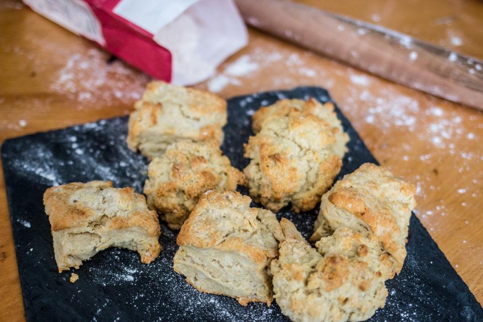 Buttermilk Biscuits and Beer Gravy