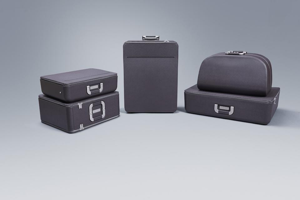 The Ferrari luggage line by Marc Newson