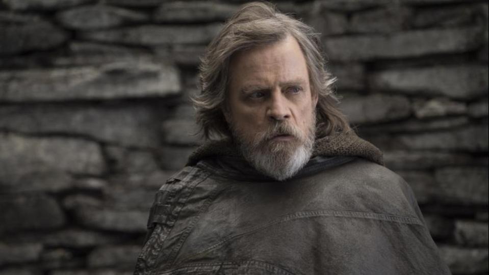Mark Hamill in 'Star Wars The Last Jedi'