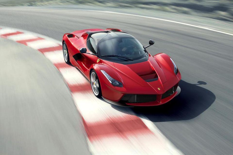 Technical elements from LaFerrari fed into the Marc Newson collection for Ferrari