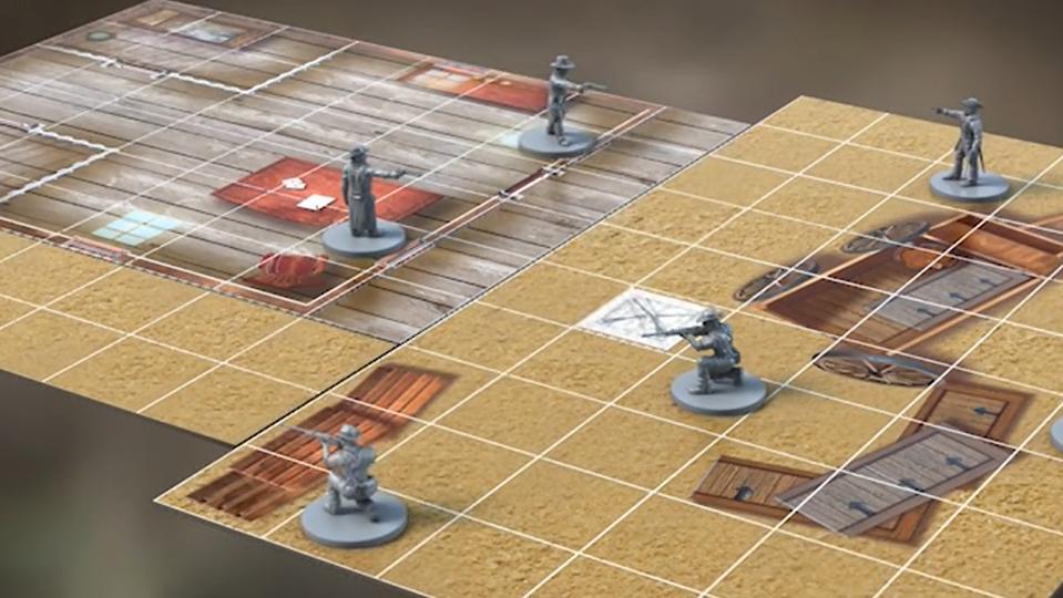 High Noon board game Kickstarter
