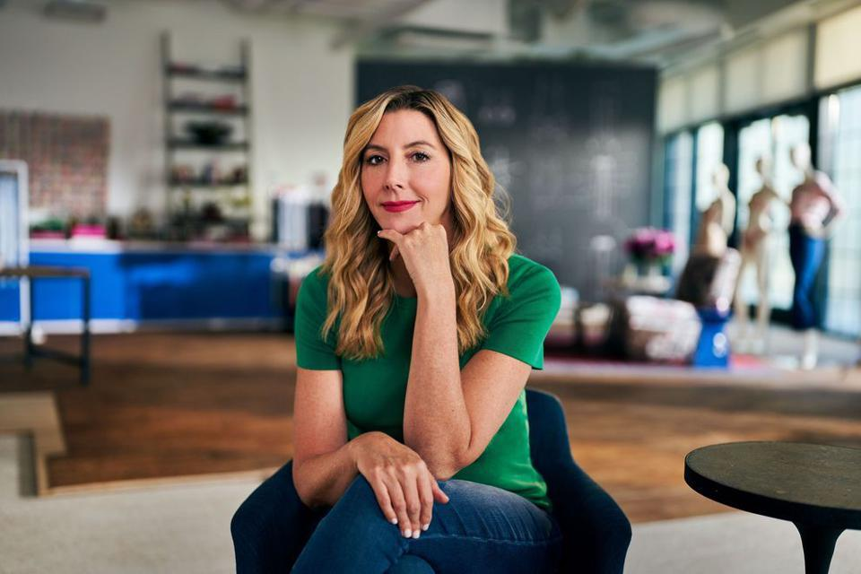 Sara Blakely, founder and CEO of Spanx, teaches a Master Class in Self-Made Entrepreneurship