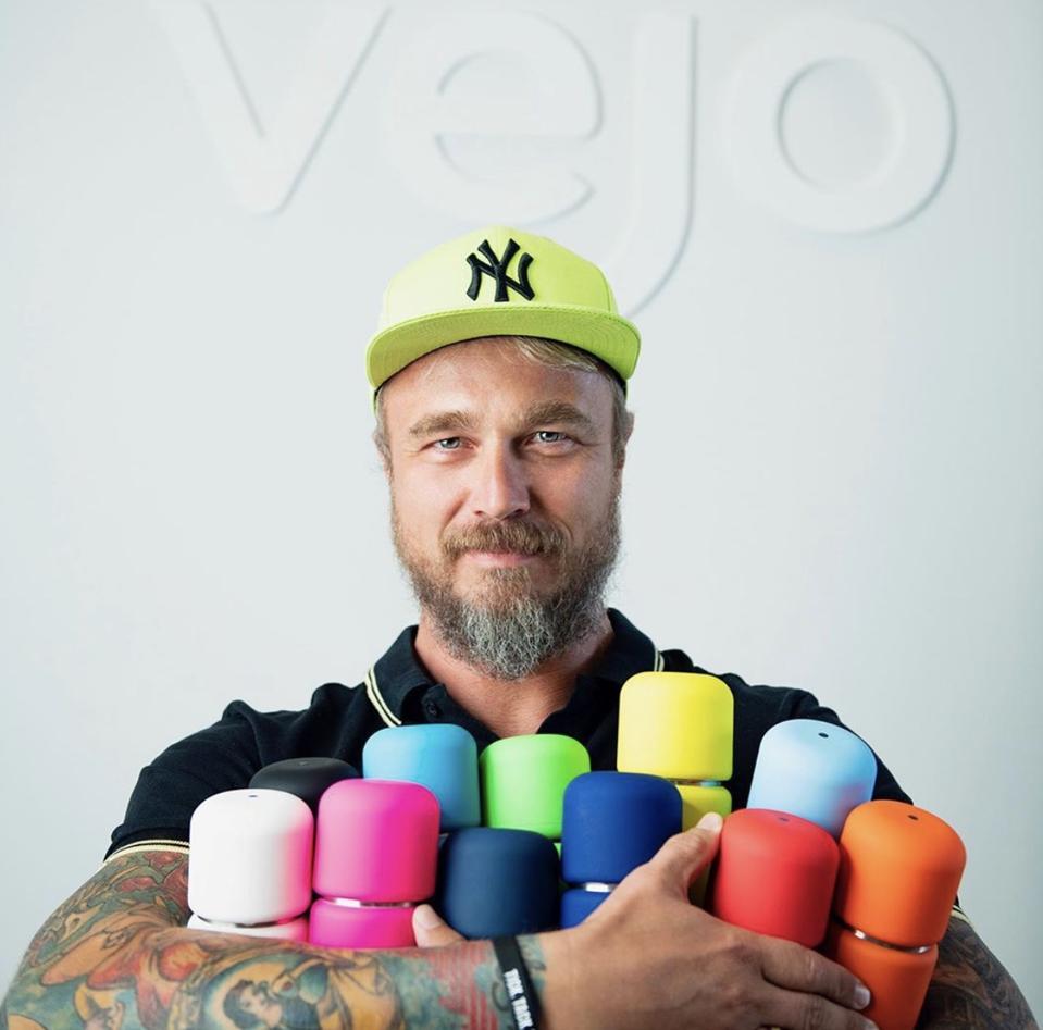 Vejo Founder, Christoph Bertsch