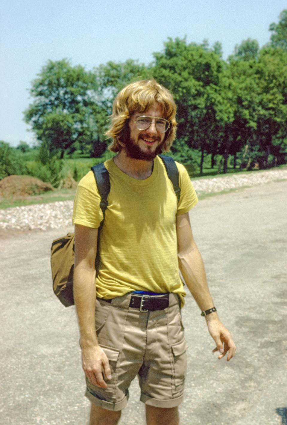 Rick Steves during his travels to Asia in 1978.