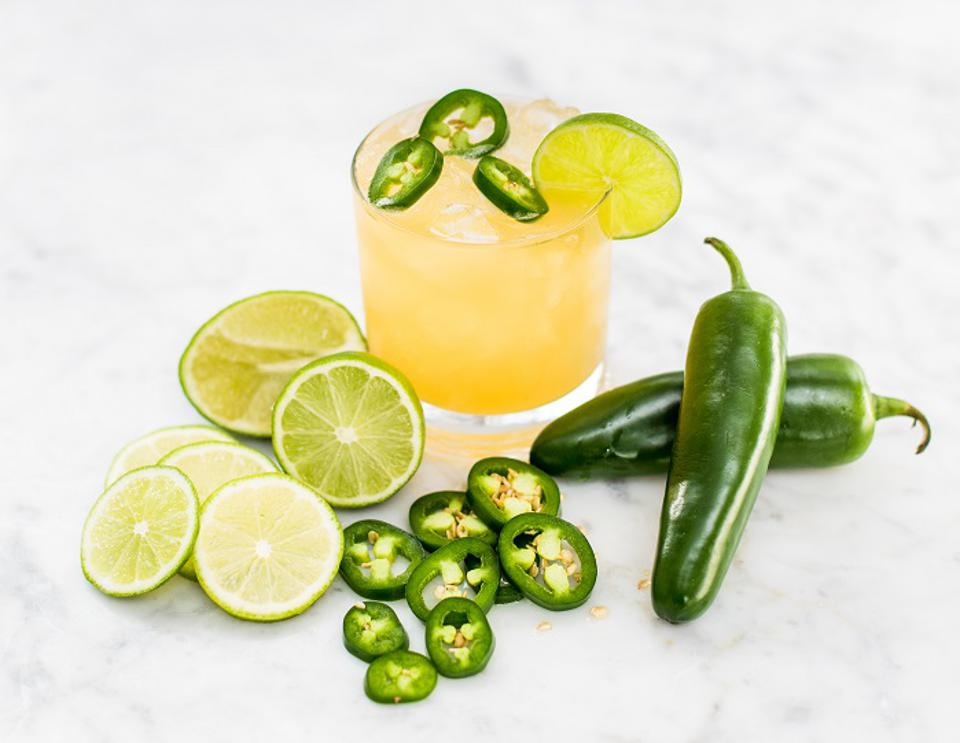 Sourced Spicy Margarita