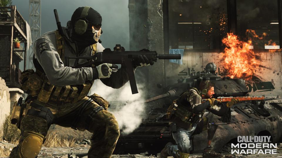 Modern Warfare Sales
