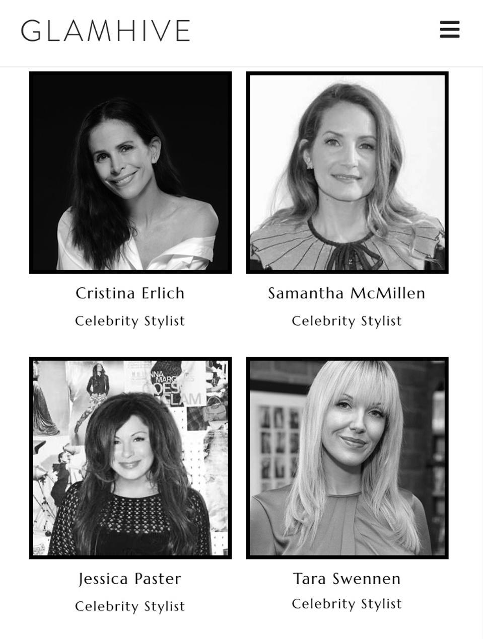 Glamhive Online Fashion Summit Tara Swennen Livia Firth Kristen Stewart