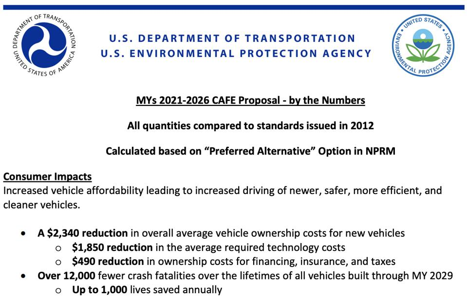 An older EPA document shares that the Obama-era policy could save up to 1,000 lives annually.
