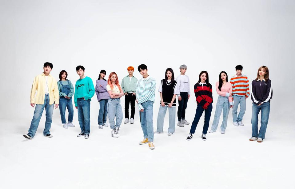 K-pop star AleXa, girl group Dreamcatcher, and boy band IN2IT promote COVID-19 student anthem, ″Be the Future.″