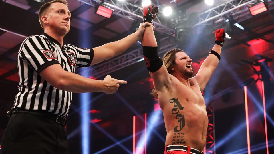 WWE Raw AJ Styles Viewership Lowest in history May 4, 2020 Money in the Bank MITB