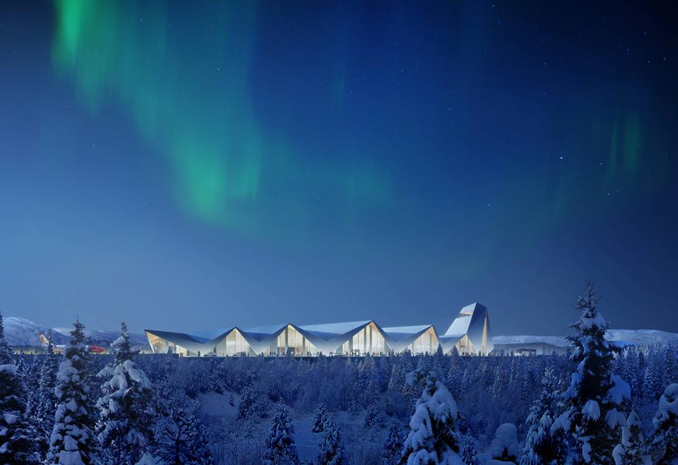 The proposed new Arctic Circle in Rana, Northern Norway.