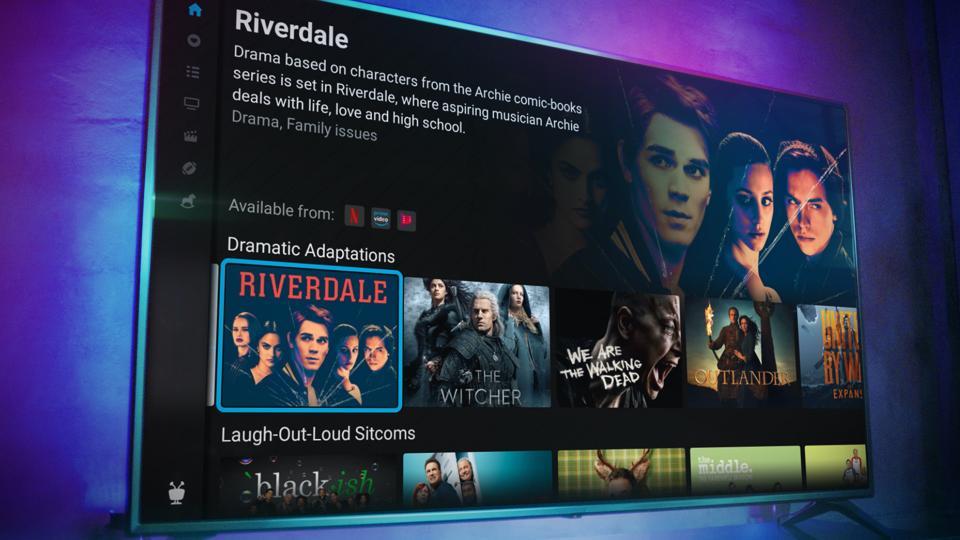 TiVo Stream 4K Home screen