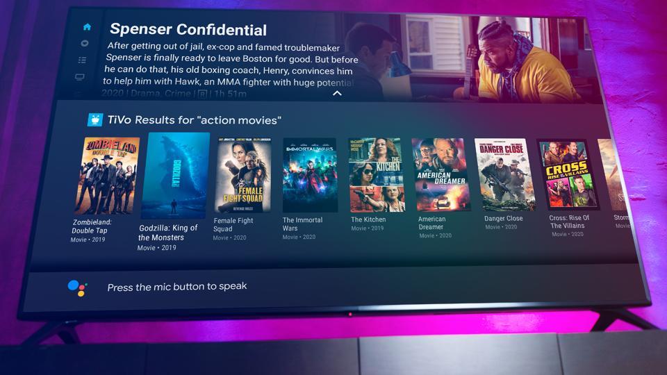 TiVo Stream 4K voice interface