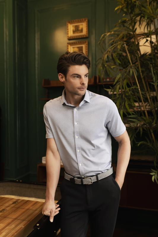 NICESTUFF Clothing Short Sleeve Knit Shirt