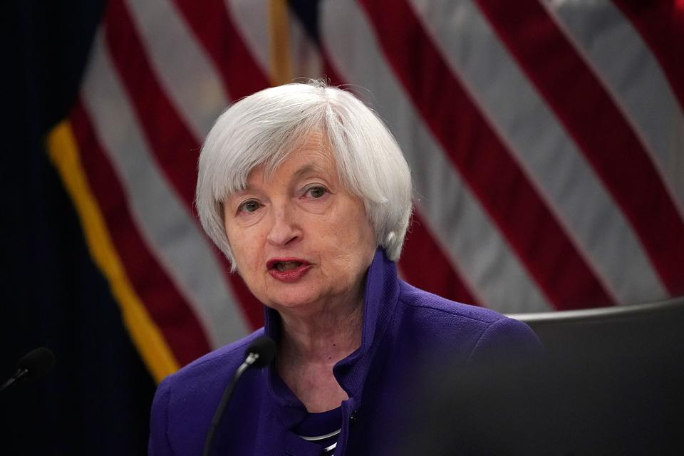 Former Federal Reserve Chair Janet Yellen issued a statement supporting The Worker Relief and Security Act