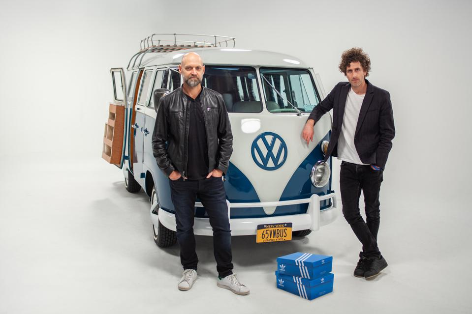 Johannes Leonado ad agency founders Jan Jacobs and Leo Premutico, VW, adidas