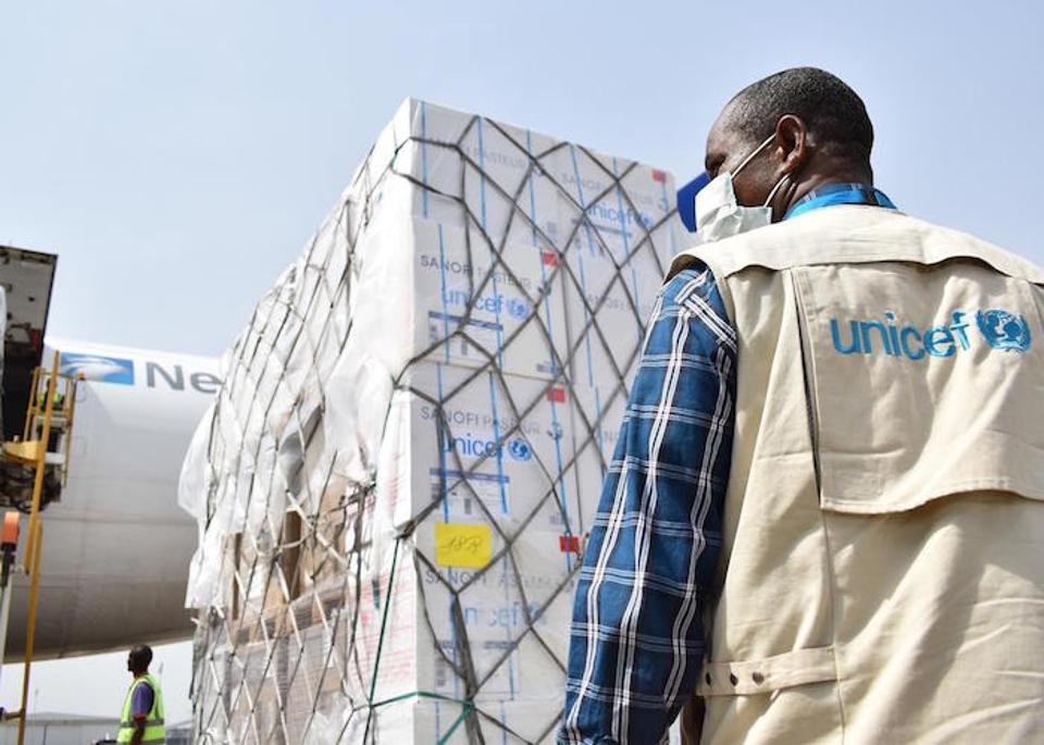 On April 16, 2020 a UNICEF shipment of vital health supplies to support the fight against the COVID-19 pandemic arrived in Nigeria.
