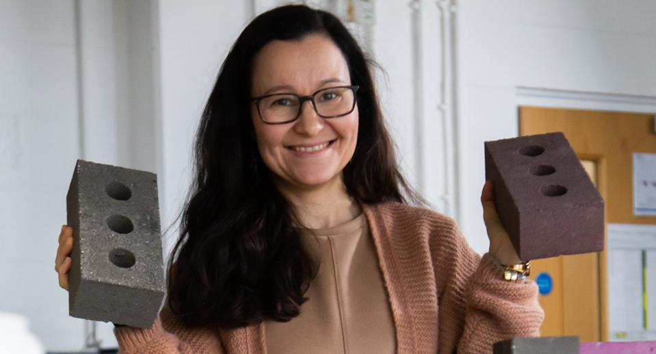 Professor Gabriela Medero at Edinburgh's Heriot-Watt University