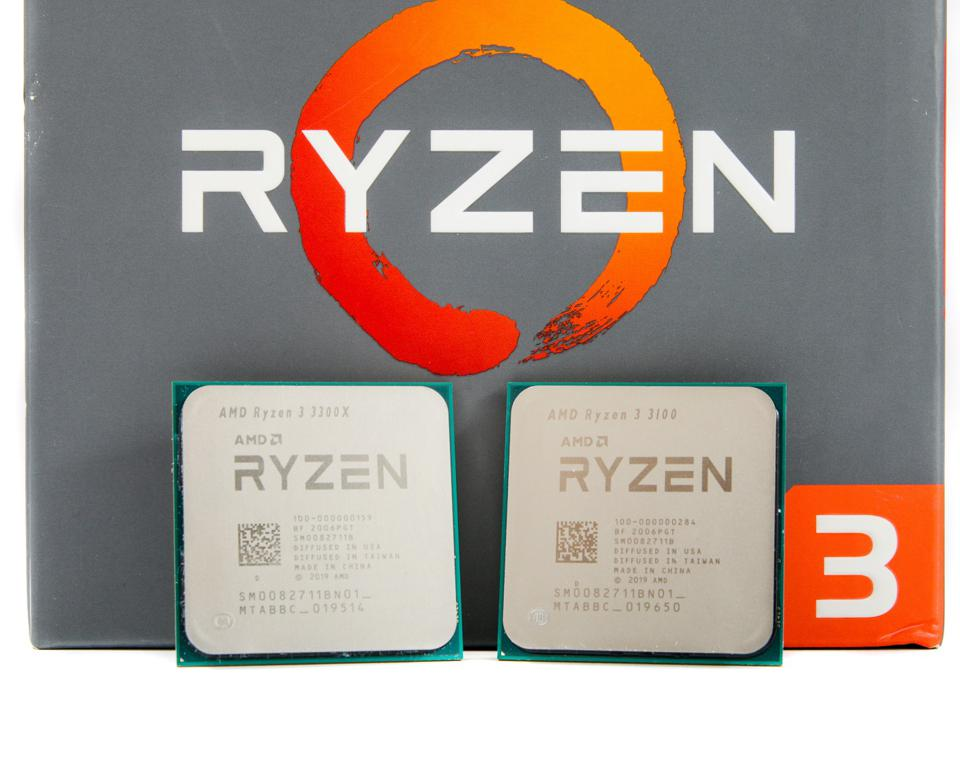 AMD's Ryzen 3 3300X and 3100 processors will offer gamers compelling choices for their PCs for less than $130