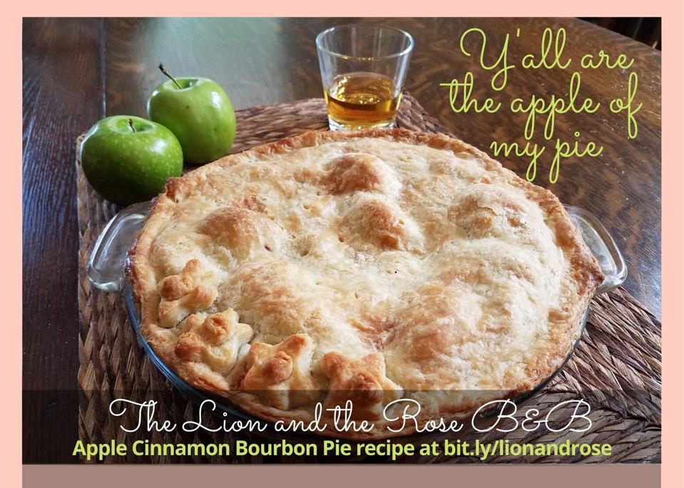 apple pie and bourbon