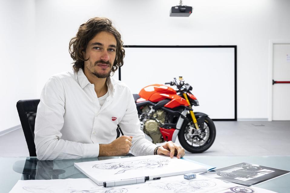 Jeremy Faraud, Ducati motorcycle designer.
