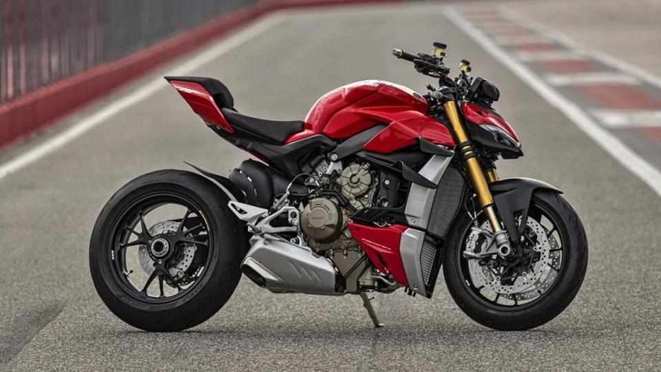 Ducati Streetfighter V4 motorcycle