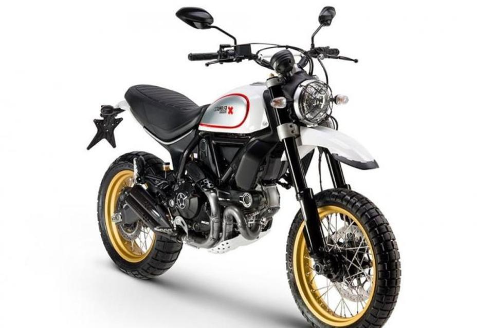 Ducati Desert Sled Scrambler motorcycle