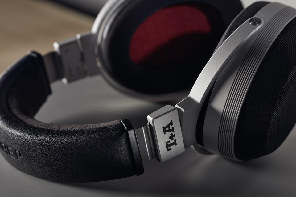 T+A Solitaire P headphones lying on their side