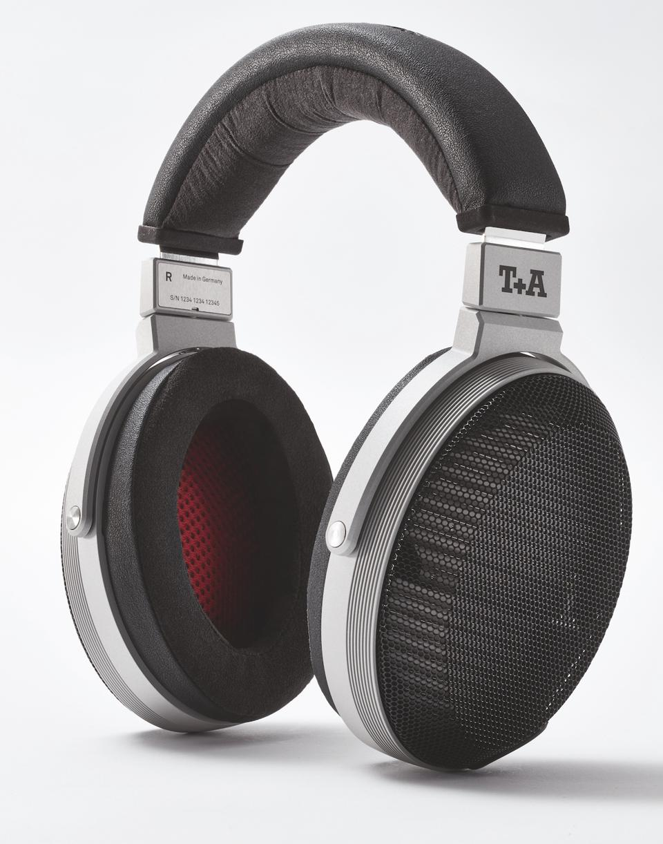 Side view of T+A Solitaire P headphones