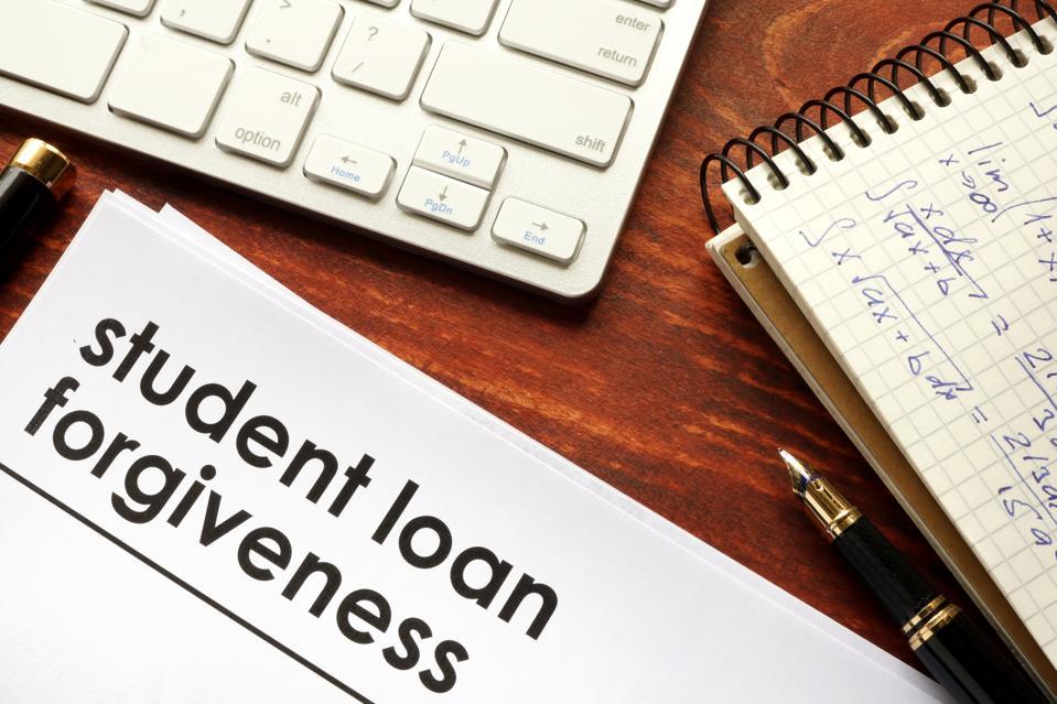 student loan forgiveness.
