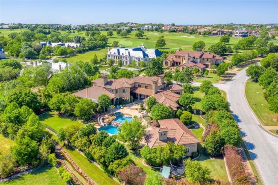 Overview of Jason Witten's Vaquero home in Texas